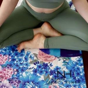 Digitally Printed Peacock Yoga Mat| Eco Luxury